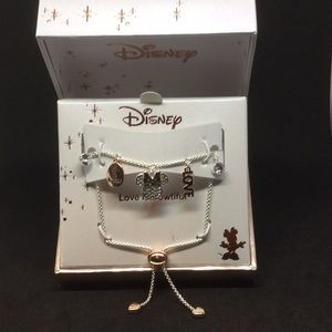 NWT Disney Minnie mouse bracelet plated silver 💐